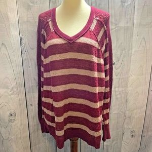 We the Free People Knit Pullover Top Sweater Small